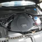 2014 A6 TDI engine wide angle