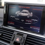 2014 A6 drive slect screen