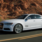 2014 A6 on the road picture