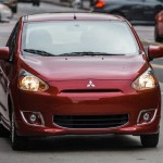 2014 Mirage road test picture