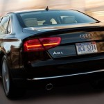 '14 A8 tail view
