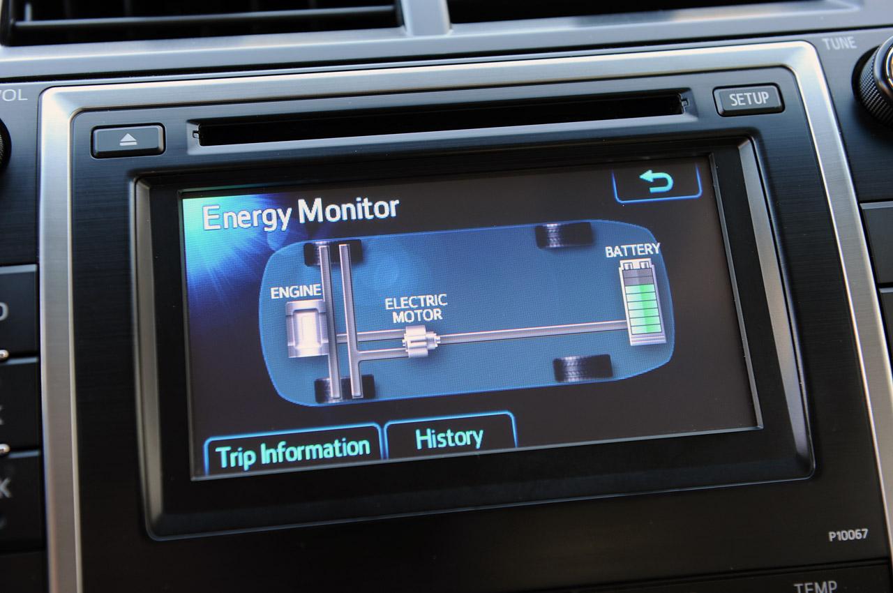 Toyota Camry: Display