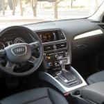 '14 Q5 TDI interior shot