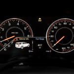 '15 Escalade gauge cluster detail