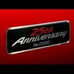 15 Miata anniversary badge