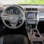 '15 Camry interior shot