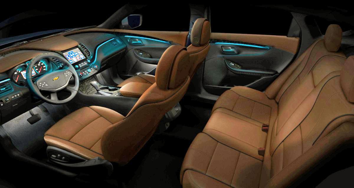 U002715 Impala Interior Cut Away