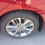'15 Camry SE wheels