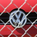 VW behind bars