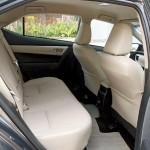 '16 Corolla back seats