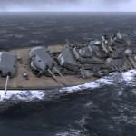 Bismarck sinking pic