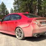 '16 WRX in red