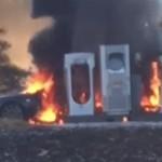 Tesla fire 2