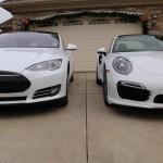 Tesla and Porsche