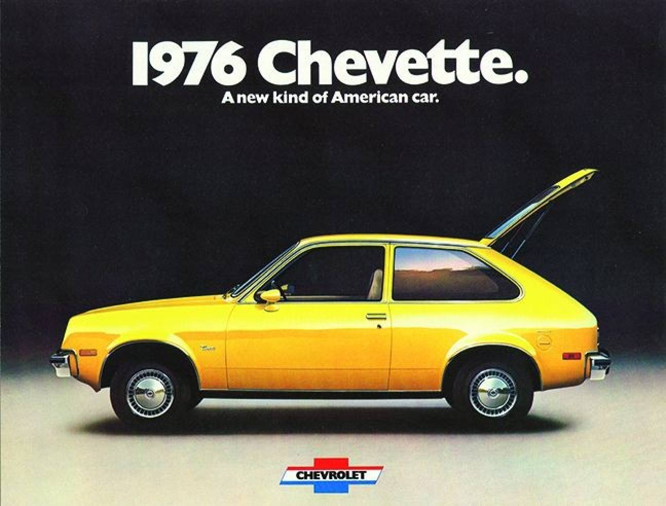 In some ways the chevy chevette had a lot in common with a new mercedes or similar high end luxury car