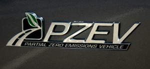 PZEV badge 300x138 - It Begins . . .