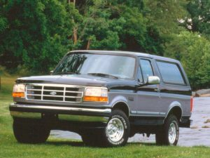 ford bronco 1995 300x225 - 7 Years & Counting - Trump's Looming EV Time-Bomb