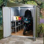 stored bike