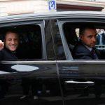 Macron limo