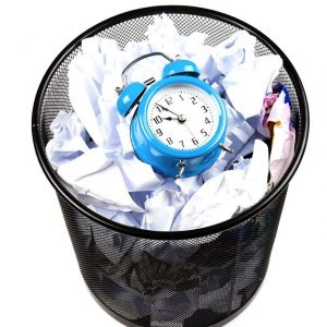 """wasting time 300x300 - How to be """"Sustainable"""""""