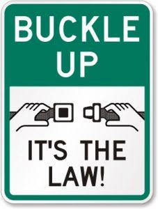 Buckle Up Seat Belt Sign K 2045 227x300 - The Big Plantation