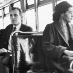 Rosa Parks Riding the Bus
