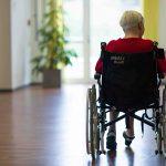 Care home elderly person